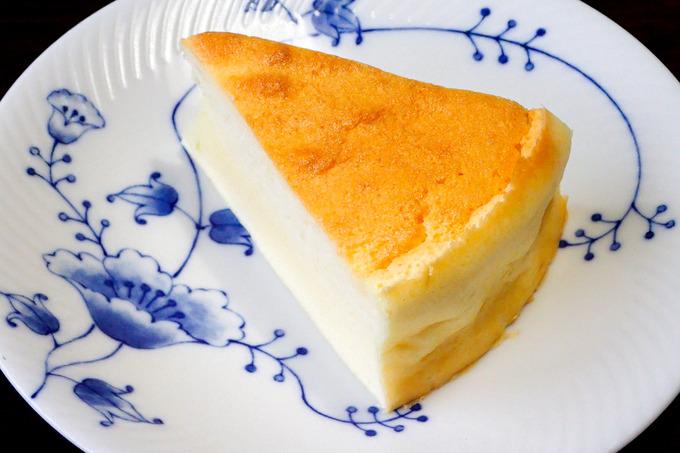 超簡単なスフレチーズケーキ