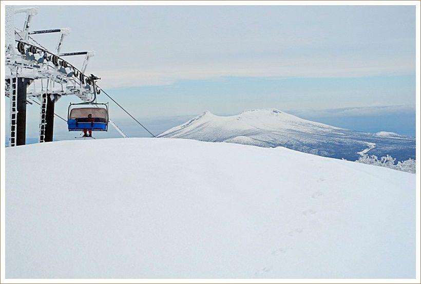 成人の日のスキー場