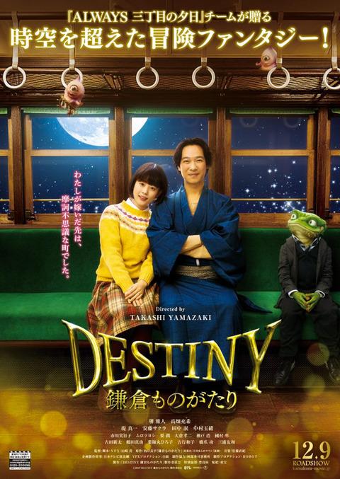 映画『Destiny 鎌倉ものがたり』