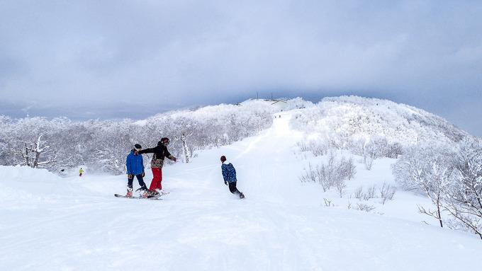 積雪2mになったスキー場