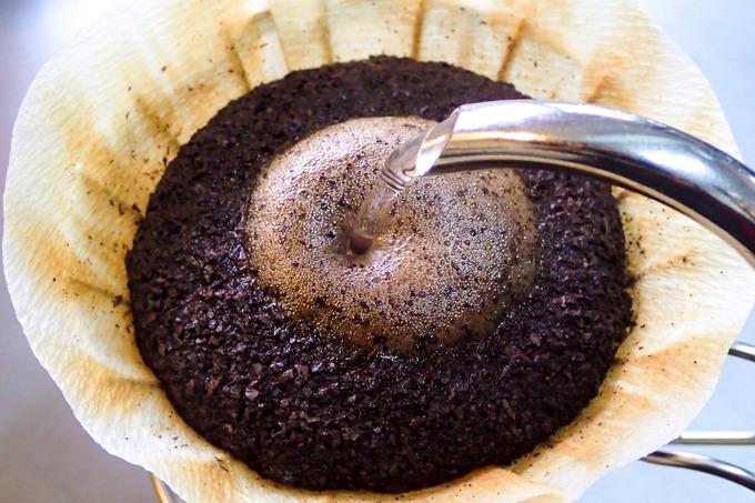 円錐型コーヒーフィルター