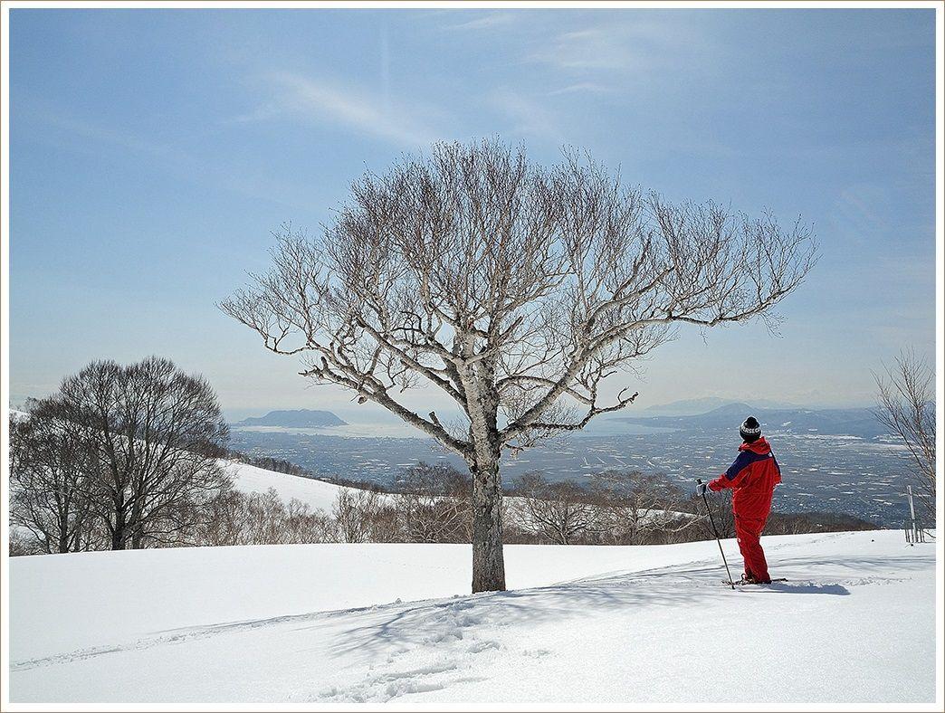 早春の七飯岳へ