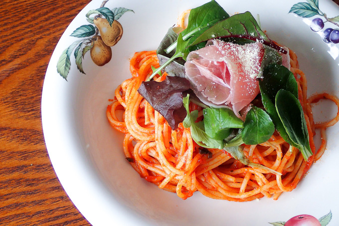 超簡単な「レストランのスパゲティ」