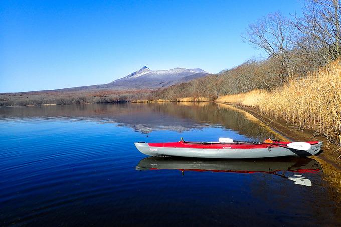 湖が凍てつく前に