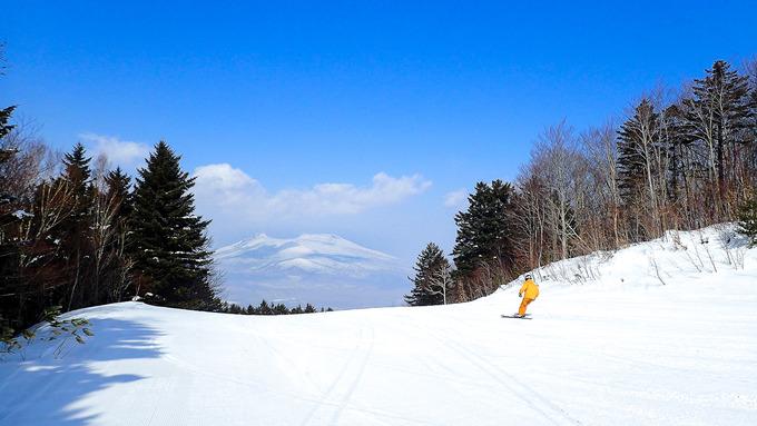 2月なのに春スキー気分