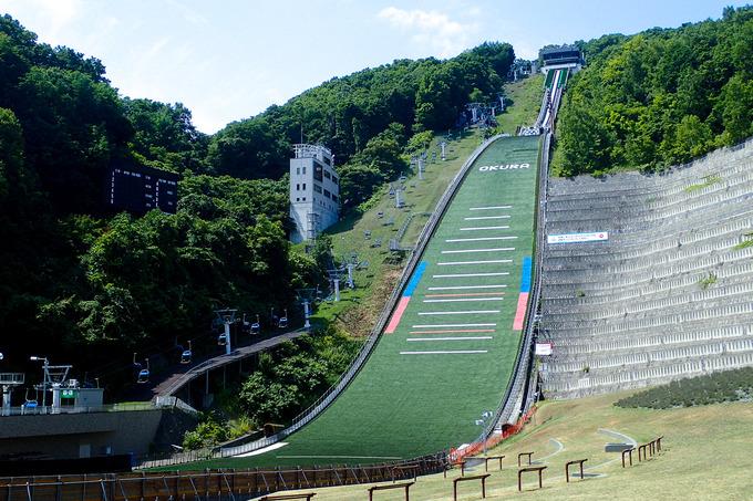 あの大倉山ジャンプ競技場へ
