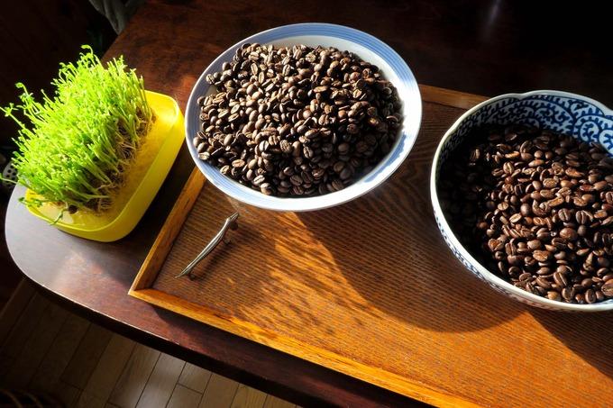 珈琲豆焙煎のすすめ