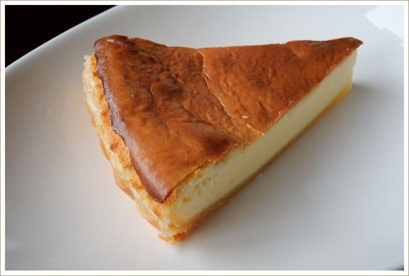 今年の第一弾「ベイクド チーズケーキ」