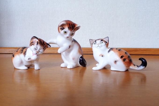 3匹の子猫 ②
