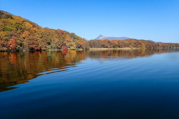 湖上からの眺めもワンダフル