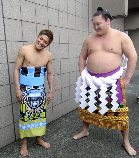 サッカー 相撲
