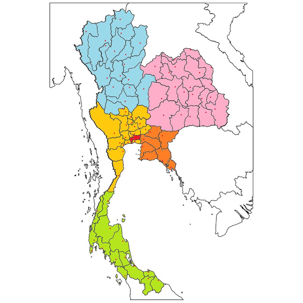タイの県名 : SABAI JAI ~サバ...