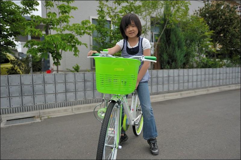 自転車の 4歳 自転車 インチ : ... な:24インチへインチアップ