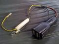 USB充電器改造後