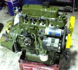 リペイントしたエンジン
