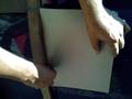 木枠の研磨