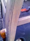 木枠の隙間