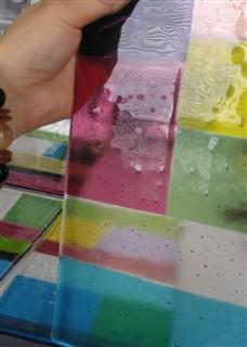 板ガラスの制作