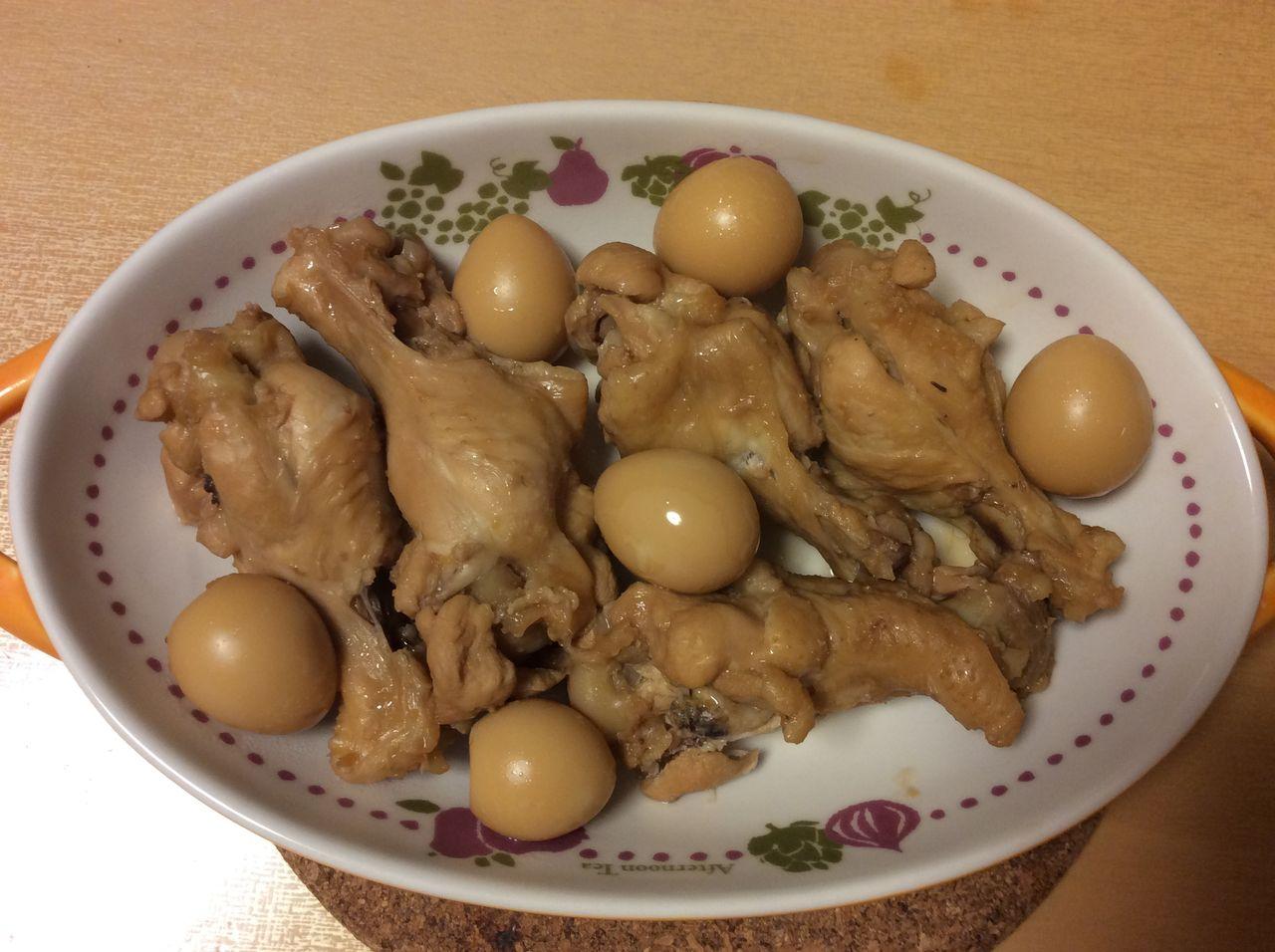 の ぽん 鶏肉 さっぱり 煮 味
