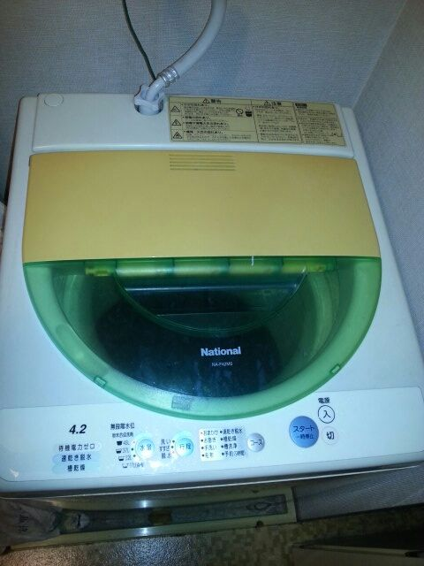 撲殺 Spinner-Handle : 洗濯機を洗濯してやろーかー!