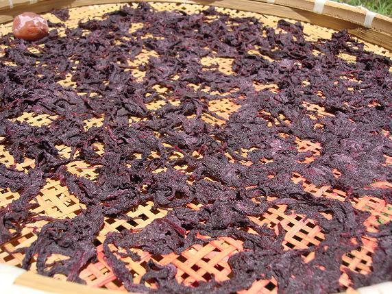 梅を干す 2010 018