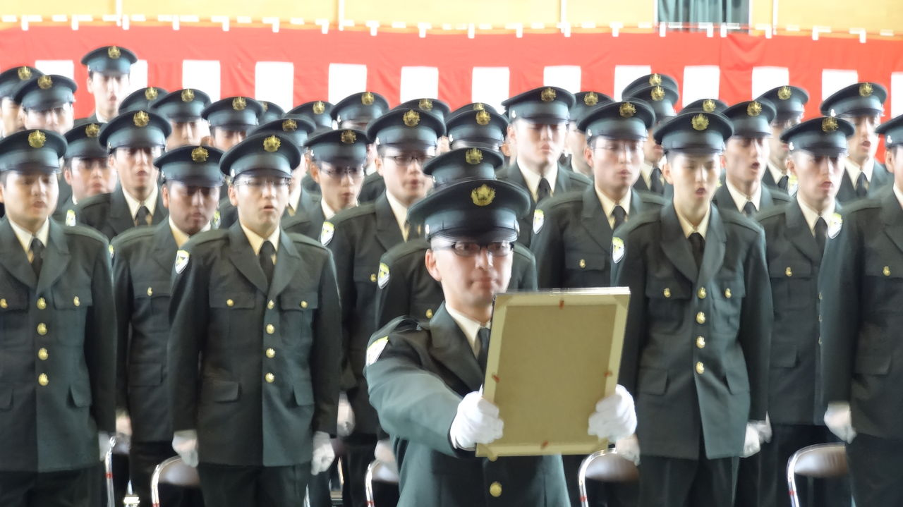 自衛官候補生入隊式(陸上自衛隊旭川駐屯地) : 佐藤さだお 公式ブログ