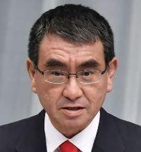 河野防衛相「私は雨男」と発言 台風被害の自衛隊派遣
