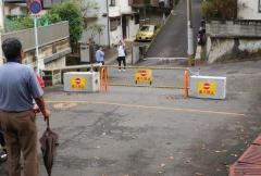 長崎・青山町の私道封鎖 住民側が仮処分申請 通行妨害禁止