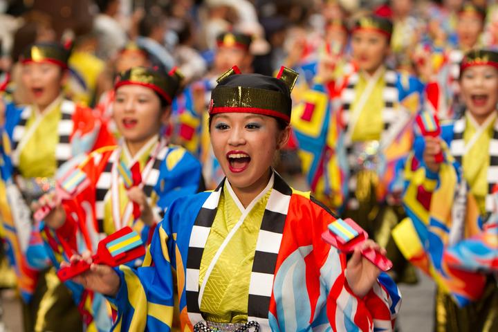 2013.08.10 高知よさこい祭り本番(とらっく)