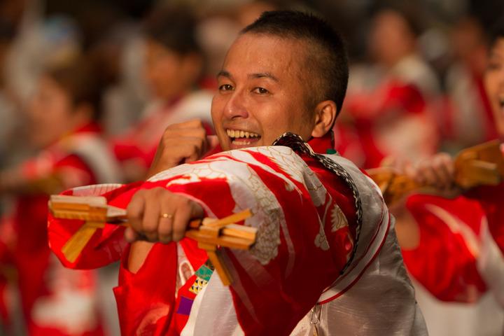 2013.08.10 高知よさこい祭り本番(宴一座)