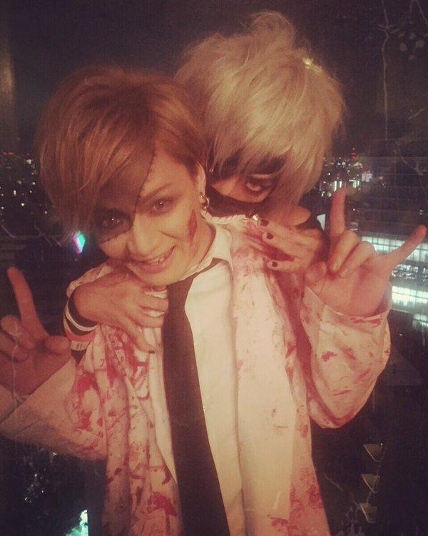 Aki con Ryohei (CLØWD)