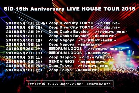 【SID 15th Anniversary】