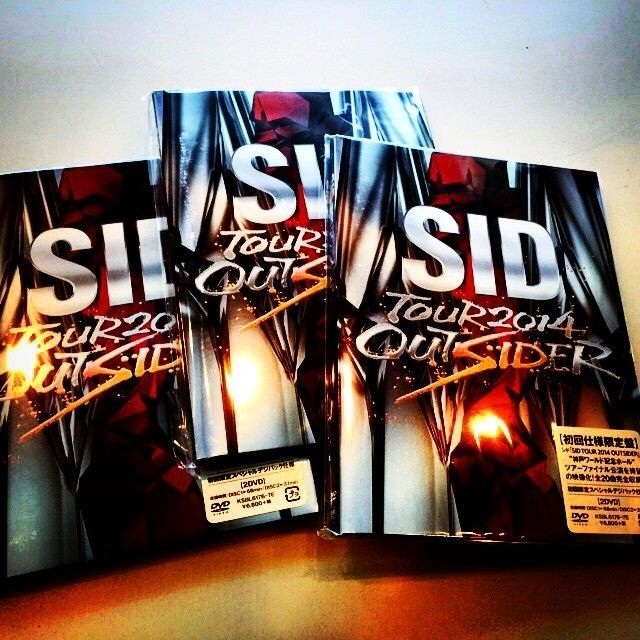 明希FacebookSID TOUR 2014 OUTSIDER [DVD]