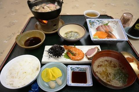 佐渡花月ビジネスプラン夕食