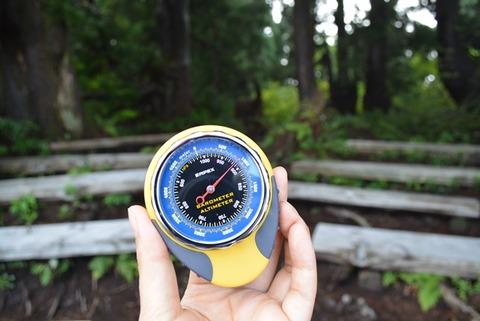 佐渡石名天然杉高度計2