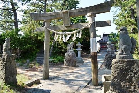 佐渡大川津神社
