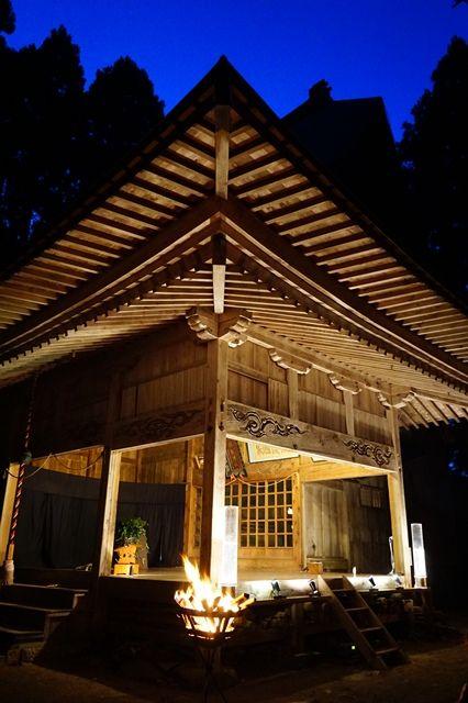 越敷神社共同舞台4