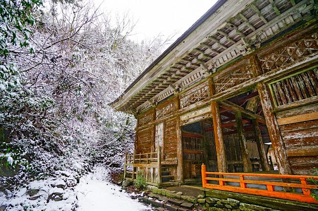佐渡清水寺冬6