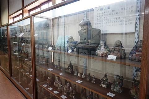 佐渡國小木民俗博物館廊下八幡人形