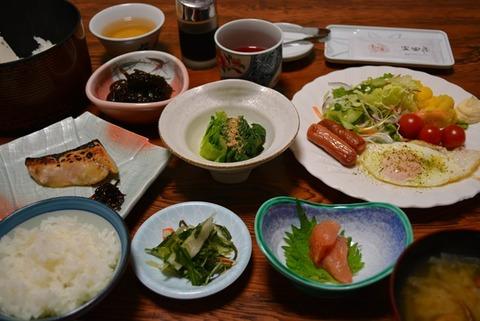佐渡尖閣荘朝食