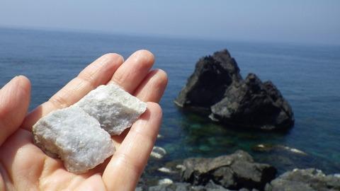 佐渡北鵜島海岸大理石2