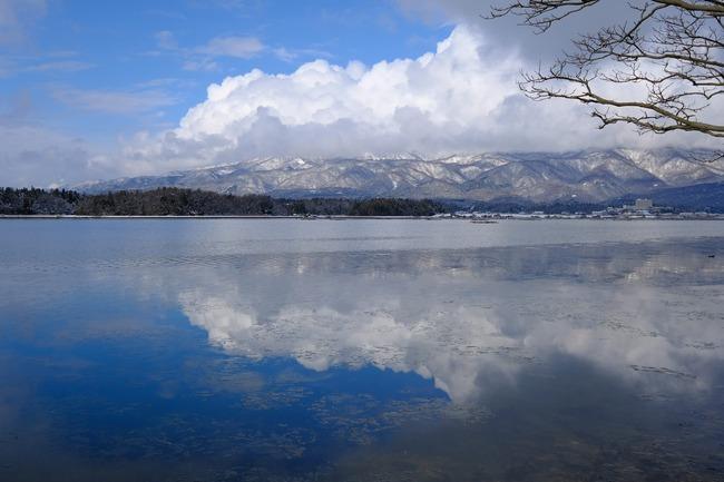 加茂湖冬2018