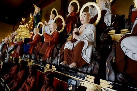 東光寺十六羅漢堂1