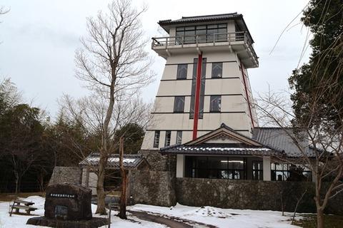 佐渡赤泊城の山展望台