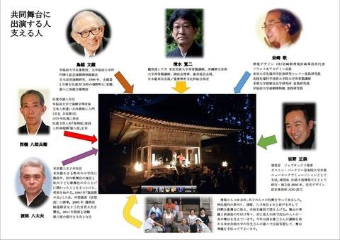 越敷神社共同舞台出演者