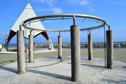 佐渡海水浴場幼児向け城が浜