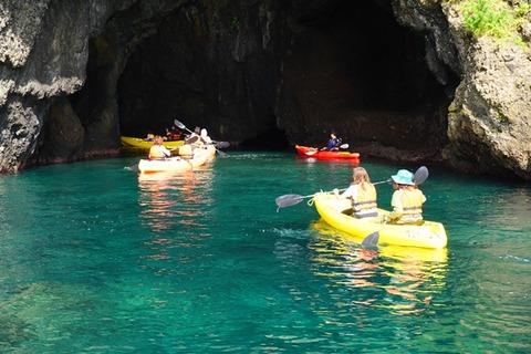 佐渡琴浦青の洞窟シーカヤック1