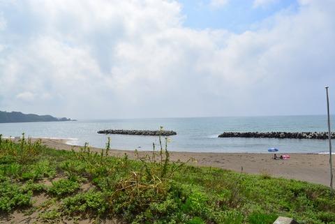 佐渡素浜海水浴場2