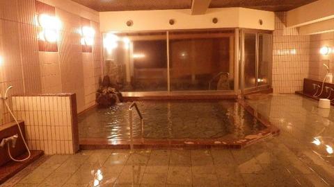 佐渡ホテル万長温泉大浴場