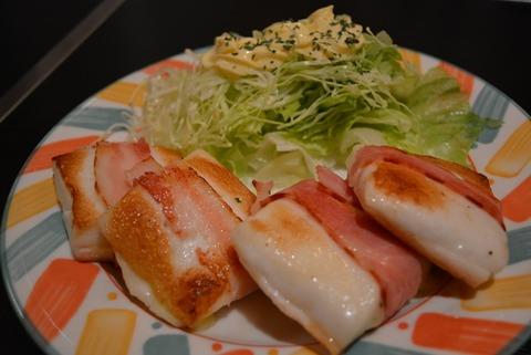 佐渡創作料理の店タローはんぺんチーズベーコン